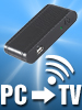 PC2TV HDMI-WLAN-Adapter 720p (refurbished)