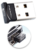 PEARL Ultra-Mini Bluetooth 4.0 USB-Adapter, Klasse 1, EDR+CSR, 100 m