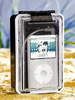 MP3-Strandbox mit Aktiv-Lautsprecher für iPod & MP3-Player