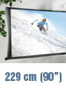 "SceneLights Faltbare Leinwand ""Cinema"" 229 cm (90"") (refurbished)"