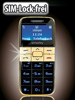 "Designer-Komfort-Handy ""Easy-5"" Gold"