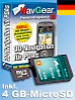 Navisoftware für simvalley MOBILE XP-45/65 D+HSE, 4 GB microSD