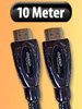 Premium HDMI-Kabel Full HD, 19pol. vergoldete Stecker 10m