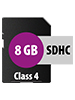 SecureDigital SD-Speicherkarte 8GB (SDHC)