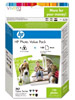 Original HP 363 Serie Photo Value Pack Q7966EE (Druckpatrone + Papier)