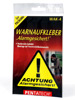 "Warnaufkleber ""Alarmgesichert"" 3er-Set"
