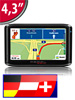 GPS-Navigationssystem VX-43 Easy D-A-CH (refurbished)