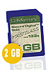 CnMemory Hyper-Speed SecureDigital (SD) Speicherkarte 2 GB (133x)